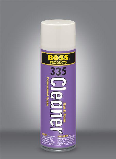 BOSS® 335 Gun Foam Cleaner - Foam Fill Gun