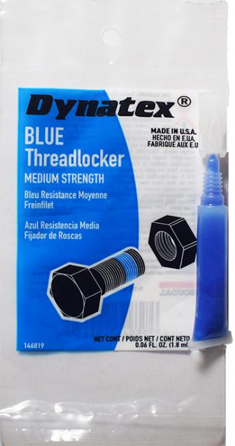 Blue Medium Strength Threadlocker