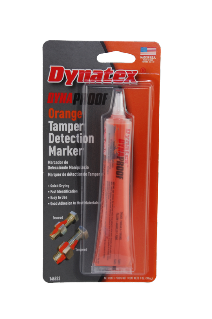 DynaProof Tamper Detection Marker - Orange