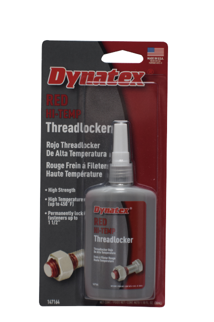 Red Hi-Temp Threadlocker