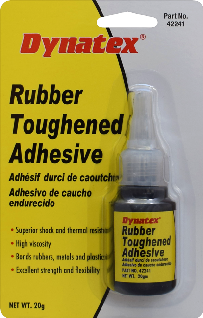 Black Rubber Toughened Adhesive