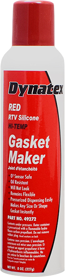 Red Hi-Temp RTV Silicone Gasket Maker