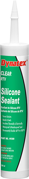 Industrial Grade Silicone Sealant - Clear