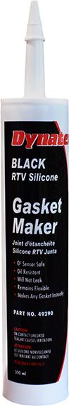 Black RTV Silicone Gasket Maker