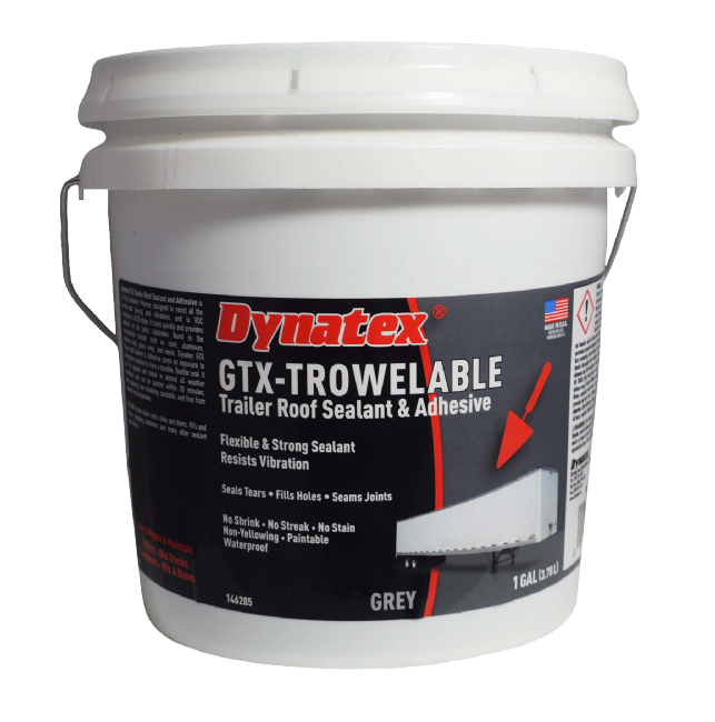 GTX Trailer Roof Repair Sealant - TROWELABLE