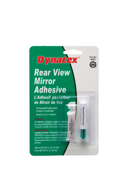 Rear View Mirror Adhesive