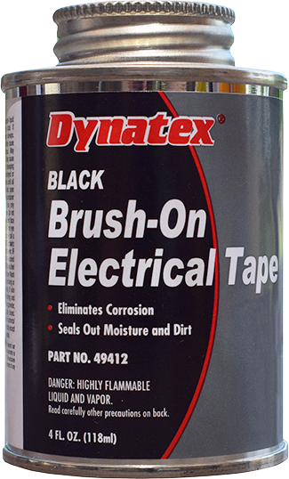 Brush-On Electrical Tape - Black
