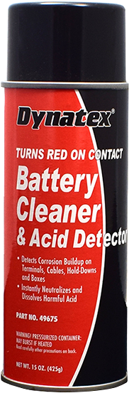 Battery Terminal Cleaner with Acid Detector